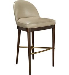 Laurent Bar Stool from the Suzanne Kasler collection by Hickory Chair Furniture Co.