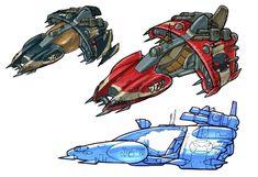 Krimzon Cruiser - Characters & Art - Jak II