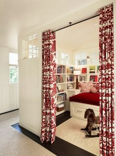 little library nook