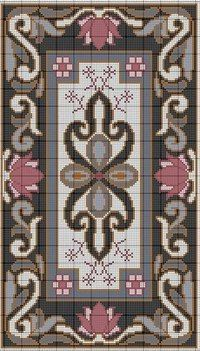no color chart, just use pattern chart colors as your guide. or choose your own colors. Cross Stitch Borders, Cross Stitch Flowers, Cross Stitch Charts, Cross Stitch Designs, Cross Stitching, Cross Stitch Embroidery, Embroidery Patterns, Cross Stitch Patterns, Broderie Bargello