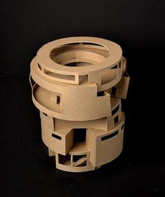 cardboard models architecture - Google Search