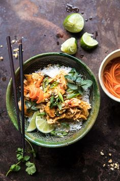 Instant Pot Thai Lemongrass Chicken | halfbakedharvest.com #instantpot #chicken #healthy #easy