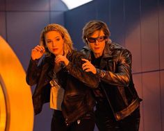 Evan Peters and Jennifer Lawrence in X-Men: Apocalypse Xmen Apocalypse, Evan Peters, Spiderman, Batman, Isla Fisher, Gerard Butler, Chris Pratt, Fast And Furious, Keira Knightley