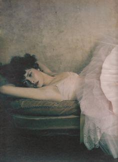 Tasha Tilberg photographed by Paolo Roversi