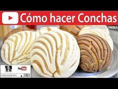 COMO HACER CONCHAS PASO A PASO, MASA MULTIUSOS PARA PAN DE DULCE - Recetas de Aleliamada. - YouTube