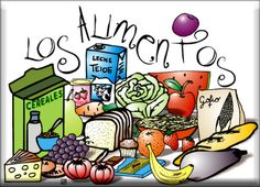 Hispadictos » alimentos World Languages, Eating Habits, Health And Nutrition, Places To Eat, Spanish Classroom, Teaching Spanish, Meals, Riddles, Natural