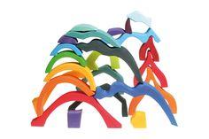 Puzzle-Set de construction Quatre éléments de Grimm's