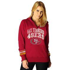 NFL Womens Preseason II Pullover Hoodie - 49ers at HSN.com.