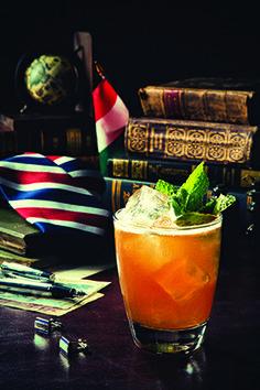 Unicum Plum The Diplomat Cocktail Recipe