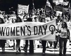These women fought for us to be given rights and dignity - don't knock feminism - thank it