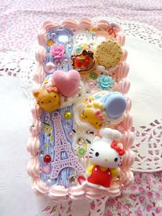 iPhone, Samsung, HTC, Sony Hello Kitty chef and sweets Deco den phone case [Custom Order] on Etsy, $37.30