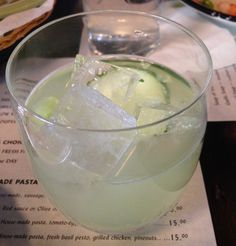 Cucumber Gin & Tonic - Market North End