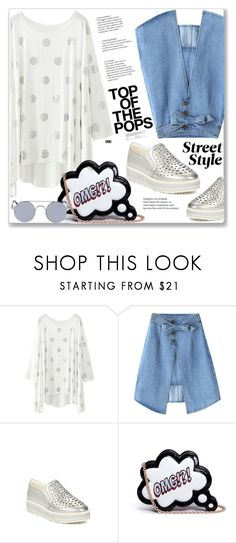 """""""Casual Look"""" by jecakns ❤ liked on Polyvore featuring Sophia Webster"""