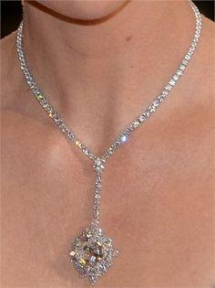 HARRY WINSTON diamond necklace. Inspired By You, Created By Us. #BlackKeyDiamonds www.blackkeydiamonds.com