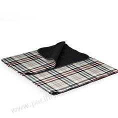 Picnic Time Blanket Tote Carnaby Street Plaid With Gray Flap - Extra Large, Multi-Colored