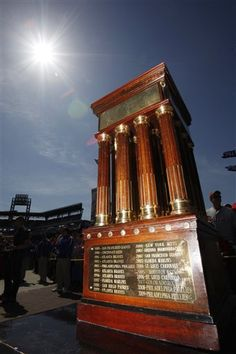 The Warren C. Giles Trophy is awarded annually by Major League Baseball to the champions of the National League.