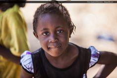 Dziewczynka z senegalskiej wioski