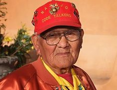 Remember Chester Nez, last of the original Navajo code talkers. Thank you for all you have done. He passed away last year on this day.