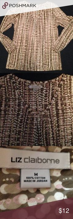 Cute top by Liz Claiborne sz M Cute top by Liz Claiborne sz M Liz Claiborne Tops