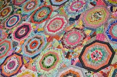 maple leaf rag quilt - from Material Obsessions 2 book -- great scrap buster