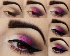 pruple makeup step by step #Fashion #Beauty #Trusper #Tip