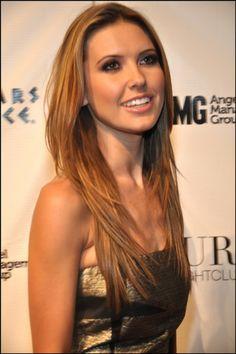 Celebrity Hairstyles News | Audrina Patridges long layered hairstyle