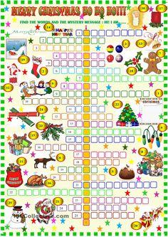 Merry Christmas crossword