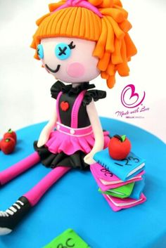 Lalaoopsey doll cake bellacakes.nz