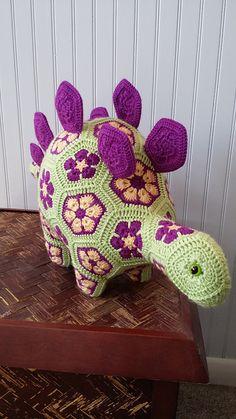 Ravelry: CindyEggleston's Stella the Stegosaurus