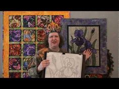 Diane/Queen of Stained Glass quilts makes you laugh as she shows how to make her fun patterns. www.detailsbydiane.com