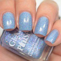 Mermaid For Me from the Under The Sea Collection swatched by @jessface90x Available Now from www.glampolish.com.au