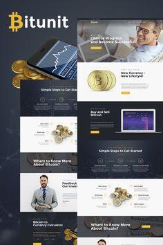 Bitunit - Bitcoin Cryptocurrency WordPress Theme WordPress Theme
