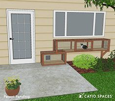 The CAT TUNNEL DIY Catio Plan by Catio Spaces provides a safe and stimulating adventure for your cat to enjoy fresh air and the enrichment of the outdoors Outdoor Cat Run, Outdoor Life, Cat Cages Indoor, Cat Safe Plants, Outdoor Cat Enclosure, Cat House Diy, Cat Window, Cat Tunnel, Cat Garden