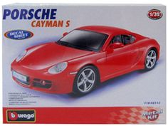 Bburago - Porche Cayman Car Miniature 1:32  Manufacturer: Bburago Barcode: 4893993451135 Enarxis Code: 014656 #toys #miniature #Porsche #Cayman Porsche, Video Games, Miniature, Toys, Vehicles, Sports, Activity Toys, Hs Sports, Videogames