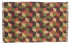 Our Calistoga Rectangle Kilim Rug 6x9' is a unique diamond pattern with rich color. When decorating with this rug you will not only add interest to your room but you will also add a sense of warmth. https://www.primitivestarquiltshop.com/products/calistoga-rectangle-kilim-rug-6x9 #primitivecountryrugs