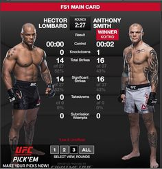 """Another great #TKO victory at #UFCPittsburgh Anthony """"Lionheart"""" Smith @anthonysmithufc defeated #HectorLombard at 2:33 of R3.  Are you watching the fights? What do you think will happen next? Tell me in the comments and don't forget to press like  and follow for all the latest MMA news!  Every fighter  has a story   Are you a fighter? If you want to be interviewed by Susan Cingari visit MustLoveMMA.com and fill out the contact form!   #ufc #fightnight116 #rockholdvsbranch #branchvsrockhold…"""
