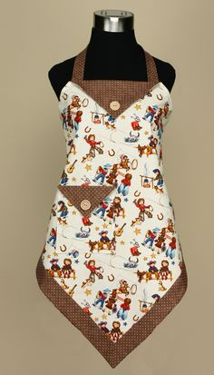 P132 Four Corners Apron! | Vanilla House Designs