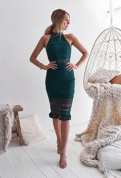 Rivers Midi Dress - Emerald. Semi Formal DressesGreen ... 0f78a9d0f
