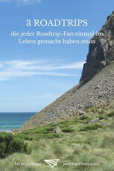 Welche Länder eignen sich am besten für Roadtrips und wo gibt es am meisten zu sehen? Wir haben für euch drei der schönsten Roadtrips der Welt getestet.