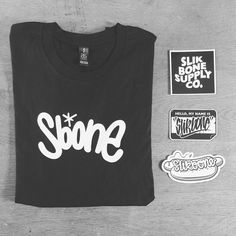 """JOE SLIK here! Want to earn a Tee? The SERIES2 'slap pack' has dropped. Have you signed up yet? Jump onto SLIKBONE.com to claim what is rightfully yours! #slikbone #clothing #clothingbrand #manicmonday #streetwear #tshirt #wakeskatetexas #graffiti #stickers"""
