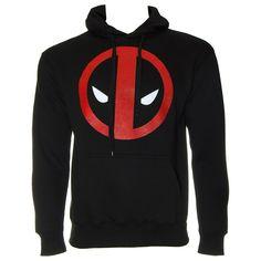 Deadpool Logo Hoodie (Black)