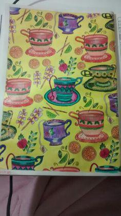 """Décima sexta ilustração de """"O livro anti-insônica"""". The Can't Sleep Colouring Book (Creative Colouring for Grown-Ups)"""