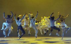 Hofesh Shechter's Sun, saw it at BAM a few nights ago. So exciting!