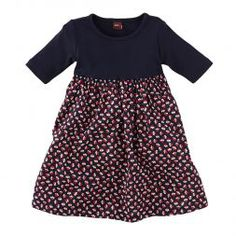 Toddler Girls Cotton Floral Swing Dress | Tea Collection