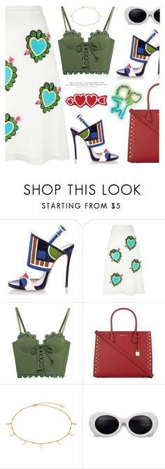 """""""- Heart to Heart -"""" by bugatti-veyron on Polyvore featuring Dsquared2, House of Holland, Puma, MICHAEL Michael Kors and H&M"""
