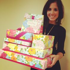 Lots and lots of Lilly gifts! #LillyHoliday
