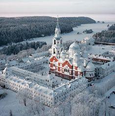 Валаамский Спасо-Преображеноский монастырь. Карелия.