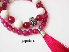 Valentine's Mala Bracelet Special Edition by ThePaprikaShop