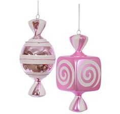 Just found Pink Large Candy Ornaments - 8 Inch: 2-Piece Box @CandyWarehouse, Thanks for the #CandyAssist!