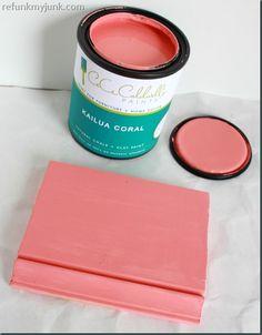 New CeCe Caldwells Paint Color! Kailua Coral!
